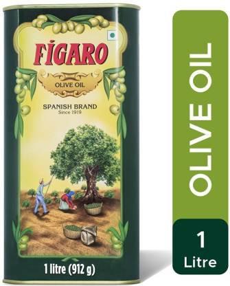 Figaro Spanish Brand Olive Oil (Tin) 1 L