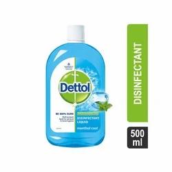Dettol for Multi-Purpose Germ Protection, Menthol Cool Liquid Disinfectant 500 M