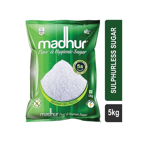 Madhur Pure & Hygienic (M30) Sulphurless Sugar 5 KG