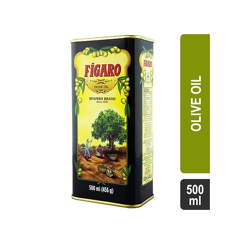 Figaro Spanish Brand Olive Oil (Tin) 500 ML