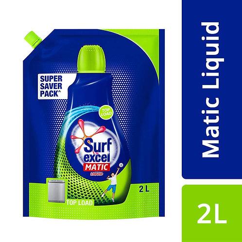 Surf Excel Matic Top Load Liquid Detergent (Pouch) 2L