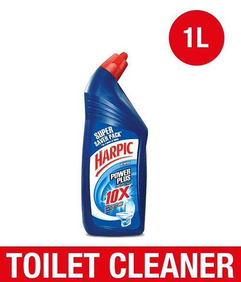 Harpic Disinfectant Original Liquid Toilet Cleaner Kills 99.9% Germs 1L