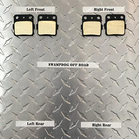 Honda Rancher 420 Brass Brake Pads