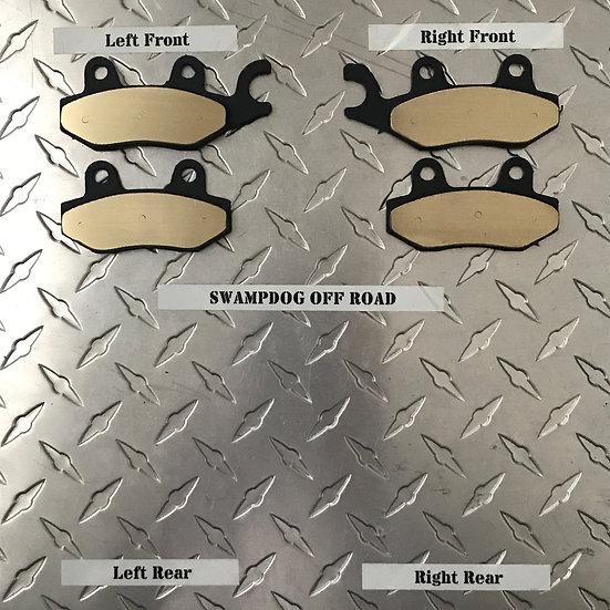 Kawasaki Brute Force/Teryx Brass Brake Pads