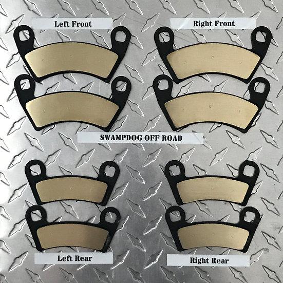 Polaris Ranger 1000/General Brass Brake Pads
