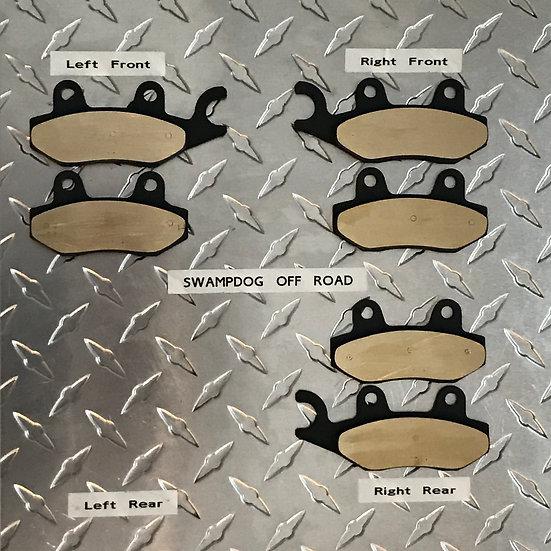 Can-Am Commander Brass Brake Pads