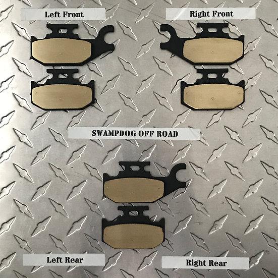 Can-Am Outlander/Renegade Gen1 Brass Brake Pads