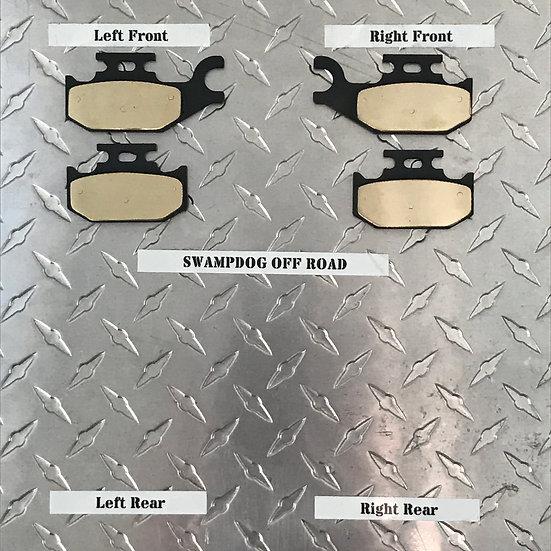 Suzuki Kingquad Brass Brake Pads