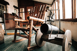 Rocking Chair & Cannon