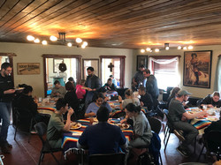 Gathering in Dining Room