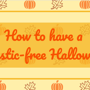 How to have a plastic-free Halloween