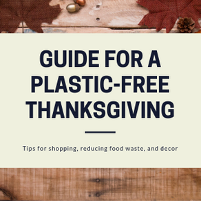 Guide for a Plastic-Free Thanksgiving