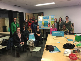 Our first Let's Talk Single-Use Plastics event at the Main Library in winter 2018