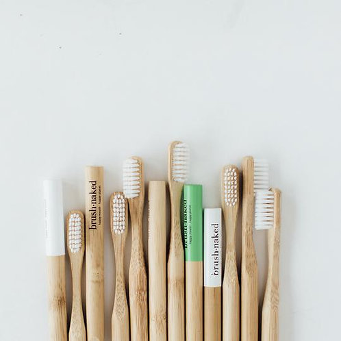 Brush Naked Bamboo Toothbrush-Single
