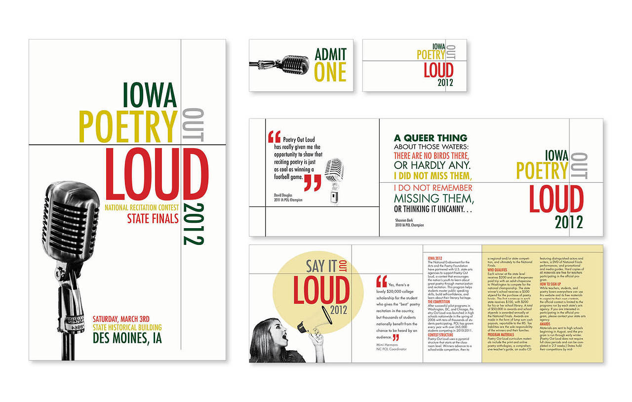 Poetry Out Loud Collateral Package