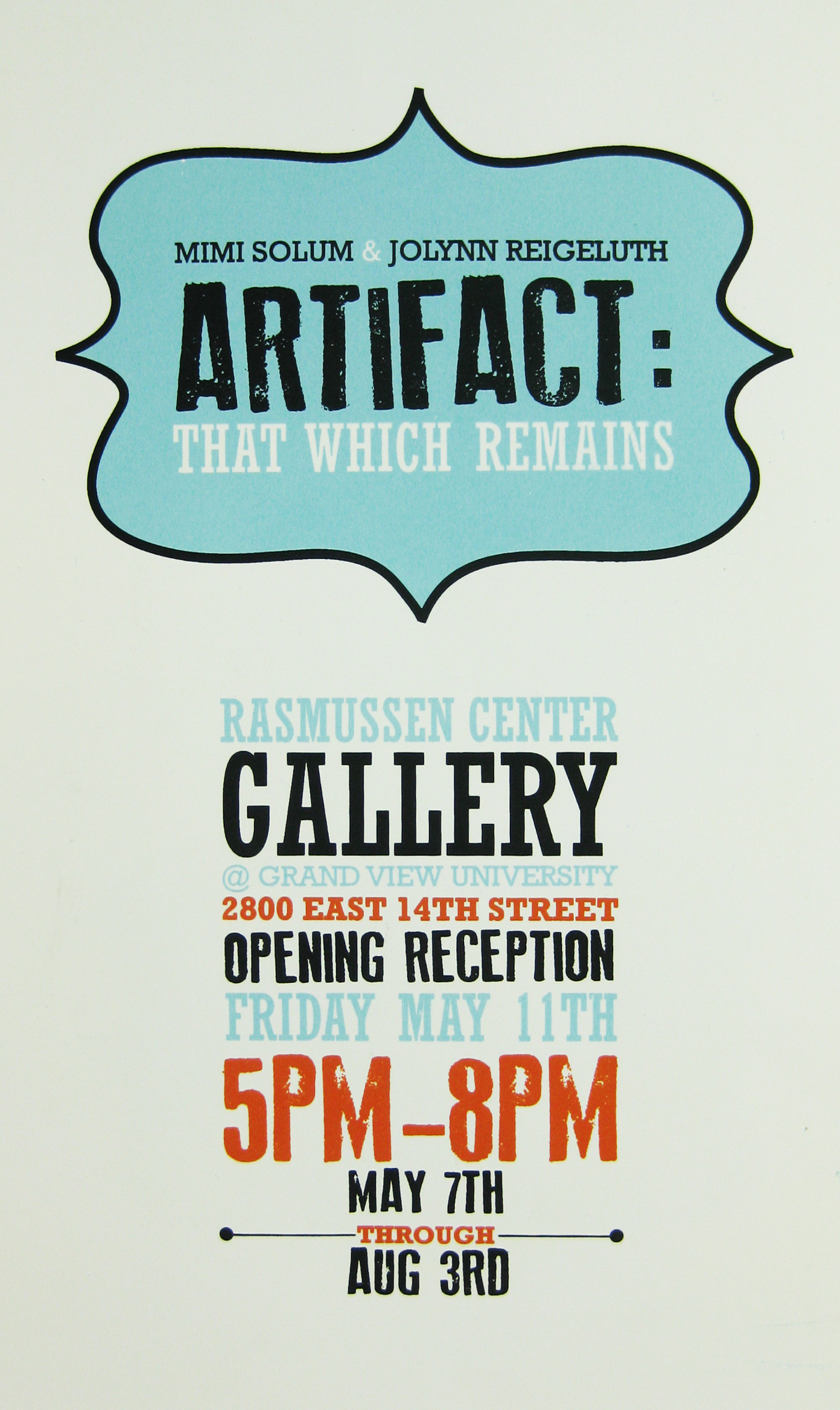 Exhibition Poster 2011
