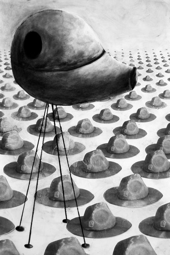 Globular Tower with Hats