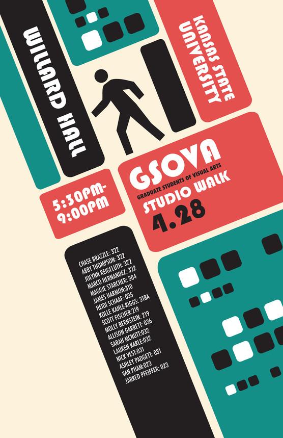 Art Walk Poster 2011
