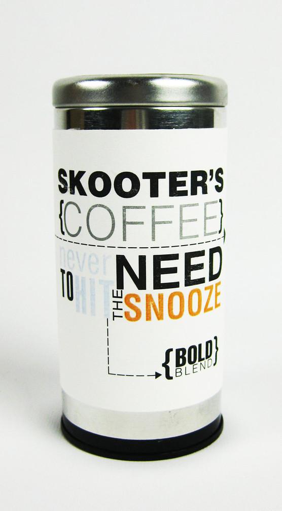 Skooter's Supermarket Branding*