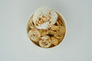 Horchata Sweet Cream Ice Cream