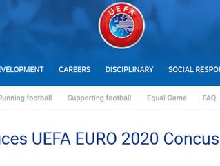 UEFA introduces UEFA EURO 2020 Concussion Charter