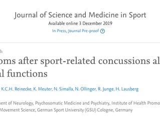 Athleten mit Gehirnerschütterungen formulieren Ihre Erfahrungen nonverbal