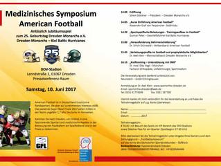 Medizinisches Symposium American Football