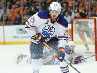 NHL-Star Draisaitl: Pause wegen Symptomen einer Gehirnerschütterung