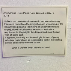 Anonymous-Gas Pipes/ Just Wanted to say Hi
