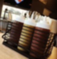 We make 4 signature bbq sauces__East- Ca