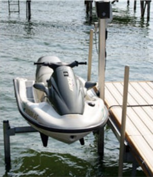 SS1053 Electric PWC Dock Mount Lift