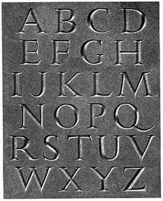 Alphabet  字母表  254 x 205mm  £120 Edition size: 50
