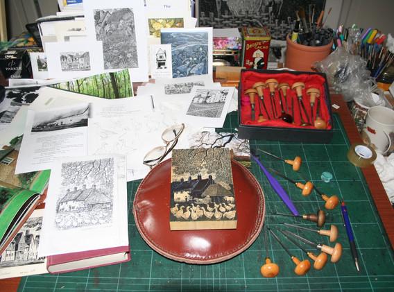 Sue Scullard work in progress.JPG