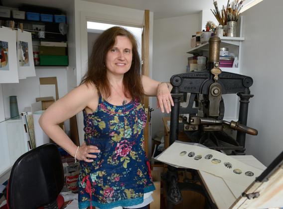 Desmet, Anne; RA 2013 WithPrintingPress.