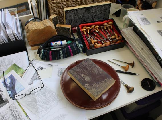 Sue Scullard Engraving in progress.jpg