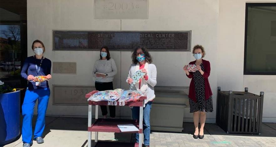 Masks, St. Vincent's Hospital