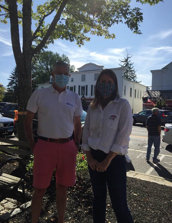 Kim and Bob in Ridgefield