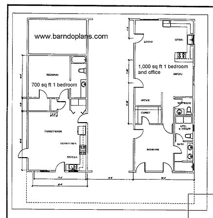 Barndominium 2 in one plan. Stock plan$369.00