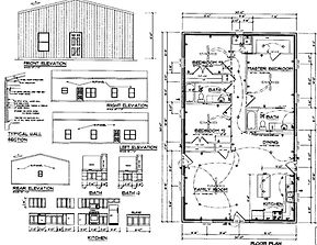 Custom design Barndominium Plans and house plans