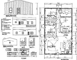 Custom design Barndominium Plans and house plans
