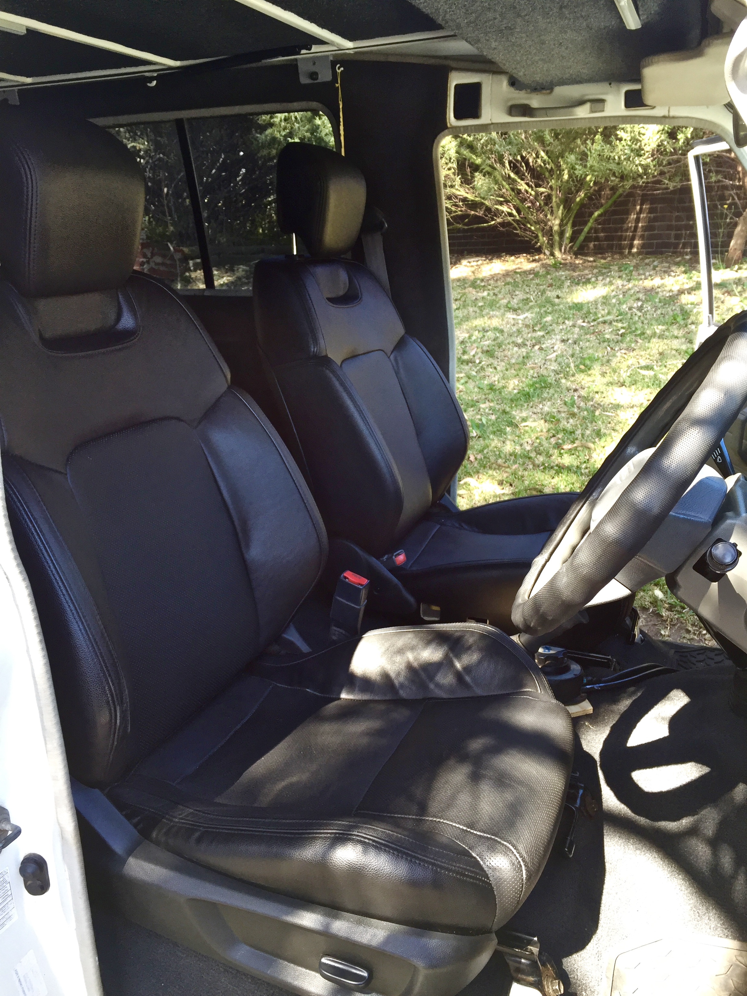Front seat conversion