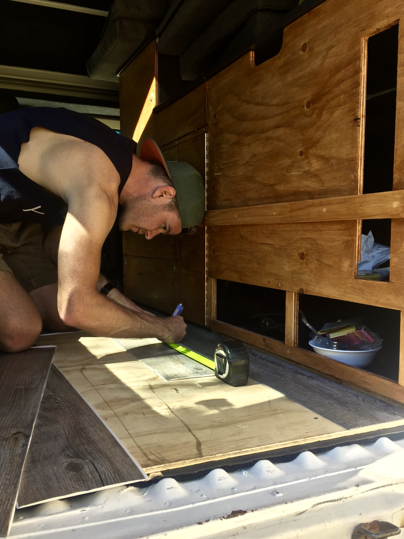 Floorboard installation
