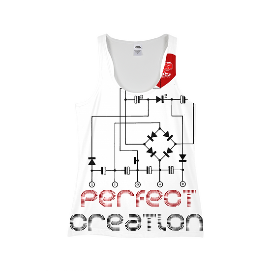 Perfect Creation Print Women Tank