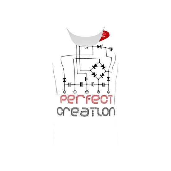 Perfect Creation Print Men Tank