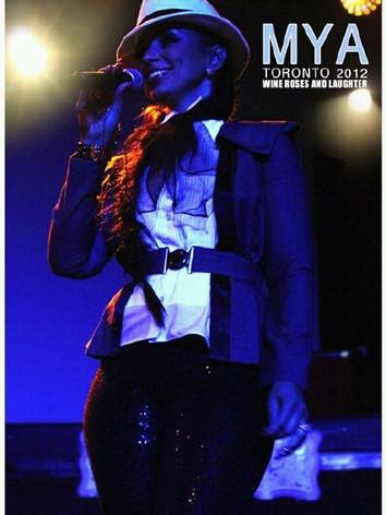 Singer Mya Harrison Performance