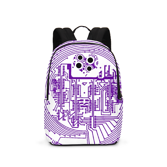 Love Cannot Be Programmed Print Large Backpack