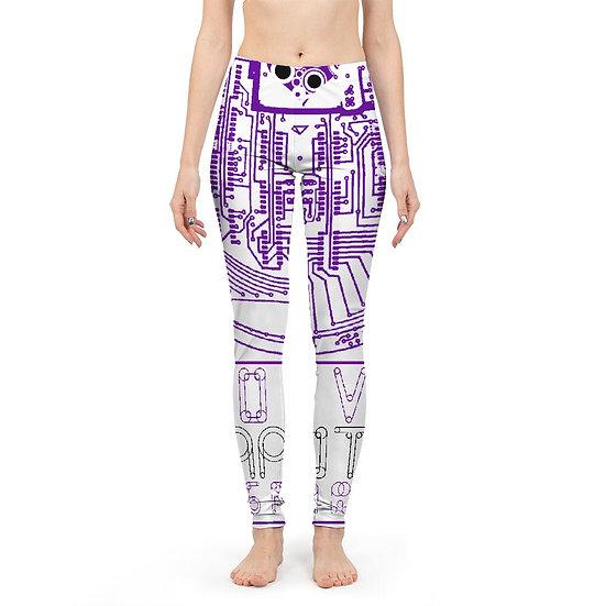 Love Cannot Be Programmed Print Women Yoga Pant