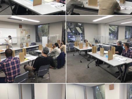 あかさたな日本語教室  対面授業(たいめんじゅぎょう)をスタートしました