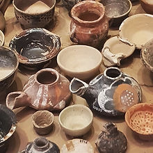Ancient Greek pottery from Crete
