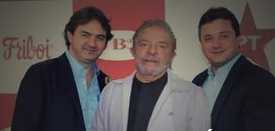 Resultado de imagem para Friboi/JBS Lula e Joesley